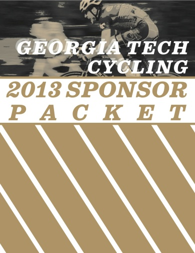 GT Cycling Sponsor Packet